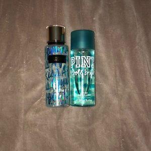 Victorias Secret (aqua kiss mist)(cool and bright)